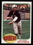 1976 Topps #415  Ken Stabler  Front Thumbnail
