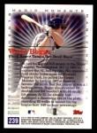 2000 Topps #239 A  -  Wade Boggs 1983 A.L. Batting Title - Magic Moments Back Thumbnail