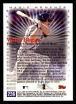 2000 Topps #239 C  -  Wade Boggs th Career Hit - Magic Moments Back Thumbnail