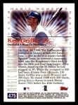 2000 Topps #475 A  -  Ken Griffey Jr. Youngest to 350 Homeruns - Magic Moments Back Thumbnail