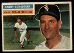 1956 Topps #265  Sandy Consuegra  Front Thumbnail
