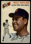 1954 Topps #74  Bill Taylor  Front Thumbnail