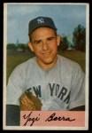 1954 Bowman #161  Yogi Berra  Front Thumbnail