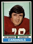 1974 Topps #86  Ron Yankowski  Front Thumbnail