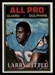 1974 Topps #123   -  Larry Little All-Pro Front Thumbnail