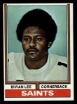 1974 Topps #229  Bivian Lee  Front Thumbnail