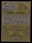 1974 Topps #457  Jerry LeVias  Back Thumbnail