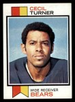 1973 Topps #494  Cecil Turner  Front Thumbnail