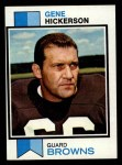 1973 Topps #183  Gene Hickerson  Front Thumbnail