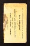 1921 E220 National Caramel  Dode Paskert  Back Thumbnail