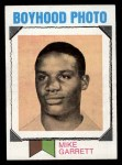 1973 Topps #267   -  Mike Garrett Boyhood Photo Front Thumbnail