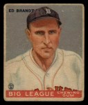 1933 Goudey #50  Ed Brandt  Front Thumbnail
