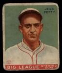 1933 Goudey #90  Jess Petty  Front Thumbnail