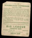 1933 Goudey #204  Riggs Stephenson  Back Thumbnail