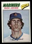 1977 Topps #118  Rick Jones  Front Thumbnail