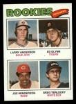 1977 Topps #487   -  Larry Anderson / Ed Glynn / Joe Henderson / Greg Terlecky Rookie Pitchers   Front Thumbnail