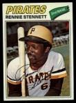 1977 Topps #35  Rennie Stennett  Front Thumbnail