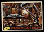 1962 Topps / Bubbles Inc Mars Attacks #8   Terror in Times Square  Front Thumbnail