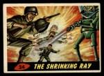 1962 Topps / Bubbles Inc Mars Attacks #24   The Shrinking Ray  Front Thumbnail