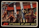 1962 Topps / Bubbles Inc Mars Attacks #3   Attacking an Army Base Front Thumbnail