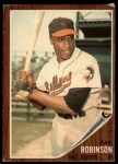 1962 Topps #272  Earl Robinson  Front Thumbnail