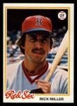 1978 Topps #482  Rick Miller  Front Thumbnail