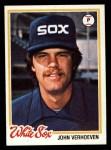 1978 Topps #329  John Verhoeven  Front Thumbnail