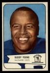 1954 Bowman #38  Buddy Young  Front Thumbnail