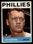1964 Topps #265  Jim Bunning  Front Thumbnail