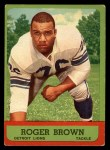 1963 Topps #34  Roger Brown  Front Thumbnail