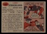 1957 Topps #105  Larry Strickland  Back Thumbnail
