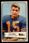 1954 Bowman #10  Vito Babe Parilli  Front Thumbnail