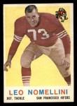 1959 Topps #19  Leo Nomellini  Front Thumbnail