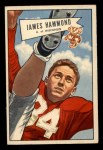 1952 Bowman Small #69  James Hammond  Front Thumbnail