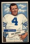 1952 Bowman Small #77  Dan Edwards  Front Thumbnail