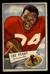 1952 Bowman Small #83  Joe Perry    Front Thumbnail