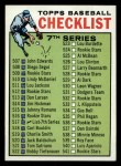 1964 Topps #517 ERR  Checklist 7 Front Thumbnail