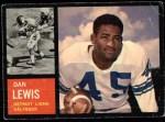 1962 Topps #51  Dan Lewis  Front Thumbnail