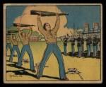 1941 Gum Inc Uncle Sam #61   Keeping Fit Front Thumbnail
