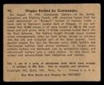 1941 Gum Inc. War Gum #95   Dieppe Raided By Commandos Back Thumbnail