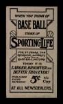 1910 M116 Sporting Life BLU Ed Summers   Back Thumbnail