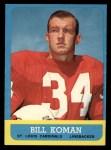 1963 Topps #154  Bill Koman  Front Thumbnail