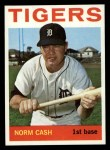 1964 Topps #425  Norm Cash  Front Thumbnail