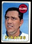 1969 Topps #243  Ron Kline  Front Thumbnail