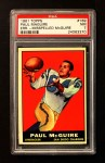 1961 Topps #169  Paul McGuire  Front Thumbnail