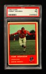 1963 Fleer #9   Tommy Addison  Front Thumbnail