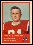 1963 Fleer #4  Jim Colclough  Front Thumbnail