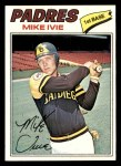 1977 Topps #325  Mike Ivie  Front Thumbnail