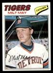 1977 Topps #98  Milt May  Front Thumbnail