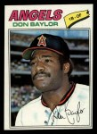 1977 Topps #462  Don Baylor  Front Thumbnail